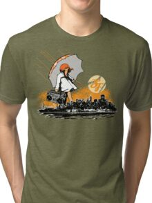 It's Raining Game in SF Tri-blend T-Shirt