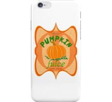 what did you expect, pumpkin juice!? iPhone Case/Skin
