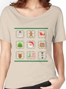 Christmas Quilt Women's Relaxed Fit T-Shirt