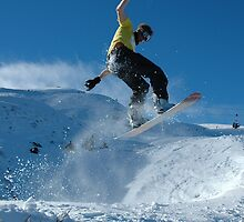 Powder at Coronet Peak by kossy88
