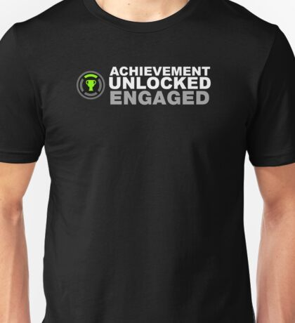 Achievement Unlocked Engaged Unisex T-Shirt