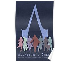Assassin's Creed Game Poster Poster