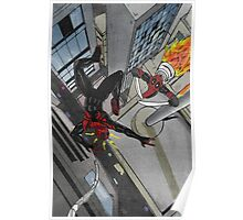 superior spiderman v deadpool Poster
