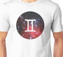 Gemini - The Twins Symbols  Unisex T-Shirt