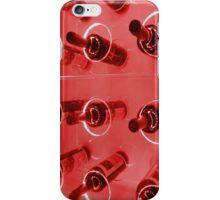 Red wine rack iPhone Case/Skin