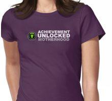 Achievement Unlocked Motherhood Womens Fitted T-Shirt