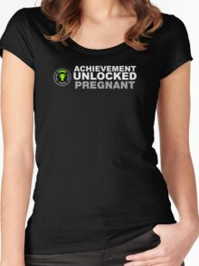 Achievement Unlocked Pregnant Women's Fitted Scoop T-Shirt