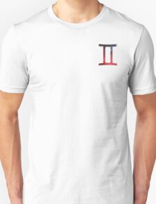 Gemini - The Twins Symbols  Unisex T-Shirt