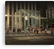 The Big Apple Canvas Print