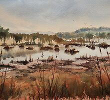 Wetlands at Windermere by Pauline Winwood
