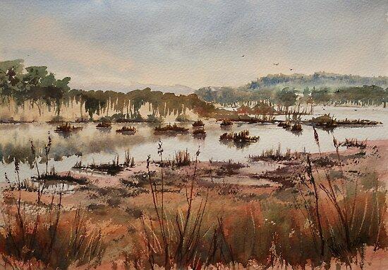 Wetlands at Windermere by Pauline Winwood