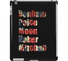 Bonham - Paice - Moon - Baker - Mitchell - British Drumming Legends iPad Case/Skin