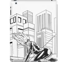 black cat felecia hardy iPad Case/Skin