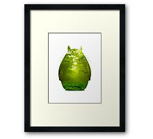 Nature Totoro  Framed Print