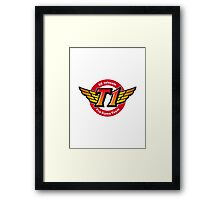 League of Legends Teams - SKTT1 Telecom Framed Print