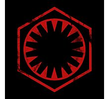 The Force Awakens - Imperial Logo Photographic Print