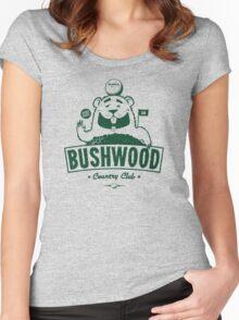 Bushwood (Dark) Women's Fitted Scoop T-Shirt