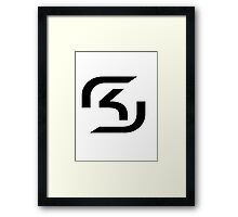 League of Legends Teams - SK Gaming Framed Print