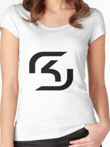 League of Legends Teams - SK Gaming Women's Fitted Scoop T-Shirt