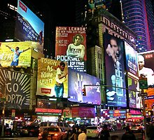 New York City by Anthony Hennessy