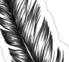 black feather Sticker