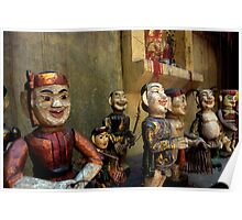 Vietnamese Water Puppets Poster