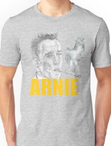Arnold Schwarzenegger Portrait Unisex T-Shirt