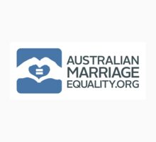 Australian Marriage Equality - Logo Horizontal by Australian Marriage Equality