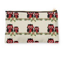 Owls December Studio Pouch