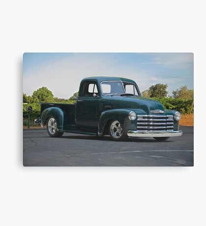 1953 Chevrolet 3100 Custom Pickup   Canvas Print