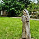 Cistercian Monk Sculpture by Colin Metcalf