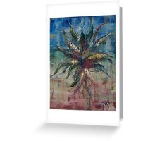 Aloes Greeting Card