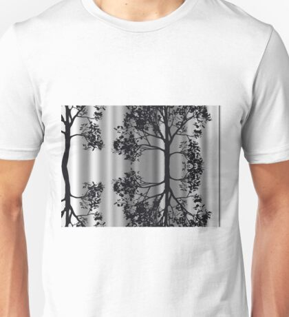 Silver Birch Abstract T-Shirt