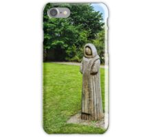 Cistercian Monk Sculpture iPhone Case/Skin