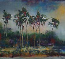 Ilala Palms on the Zambezi by Gigi Guimbeau