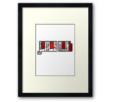 James Hunt Design Framed Print