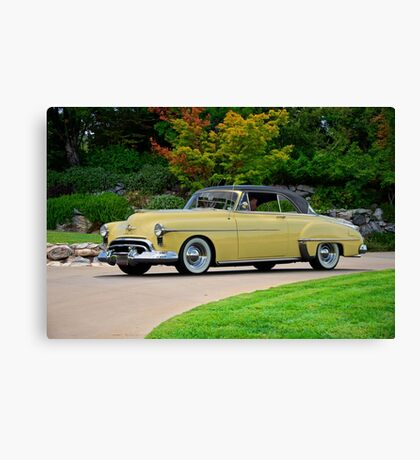 1951 Oldsmobile Holiday 88 Canvas Print