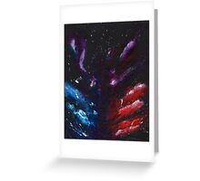 Battle Abstract Greeting Card