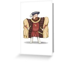 Henry Ate Greeting Card