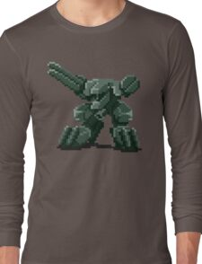 Metal Gear Pixel Long Sleeve T-Shirt
