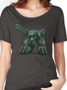 Metal Gear Pixel Women's Relaxed Fit T-Shirt