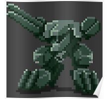 Metal Gear Pixel Poster