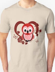Love Owl  Unisex T-Shirt