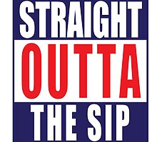 Straight Outta The Sip decal by Weston Miller