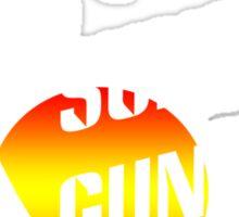 Suns out guns out geek funny nerd Sticker