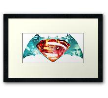 DOJ Collage Framed Print
