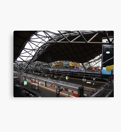 southern cross station,melbourne Canvas Print