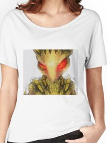 Serpent Lady by Sarah Kirk Women's Relaxed Fit T-Shirt