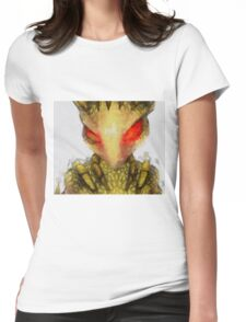 Serpent Lady by Sarah Kirk Womens Fitted T-Shirt