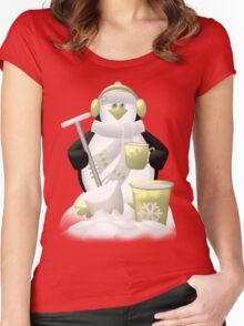 Time For A Cuppa  Women's Fitted Scoop T-Shirt